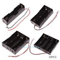 5pcs Batteriehalter Akkuhalter für 1/2/3/4x 18650 mit 3,7 V Anschlußkabeln