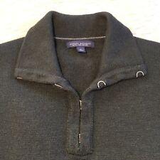 Extra Fine Merino Wool 100% Banana Republic Sweater Deep Army Green Mens Size XL
