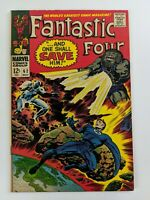 FANTASTIC FOUR #62 - 1st App of Blastaar, Inhumans & Sandman App - May 1967