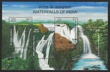 India 2003 Waterfalls MS miniature sheet MNH