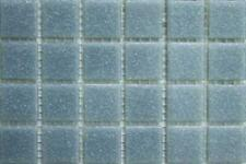 75 Matte Grey Vitreous Glass Mosaic 20mm Tiles A07