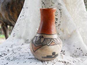 Rustic Primitive Pottery Jar Farmhouse Western Decor Antique Southwestern Vase