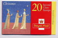 GB 1996 20 x 2nd CLASS NATIVITY CHRISTMAS BOOKLET LX12