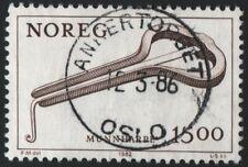 Norwegen Norway  sehr schön gestempelt OSLO ANKERTORGET 12-3-86
