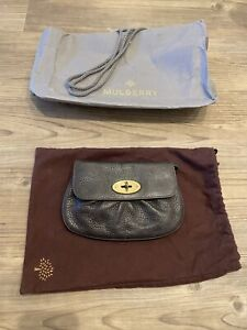 Mulberry Small Traditional Style Brown Clutch Handbag / Purse