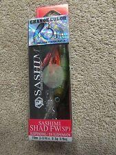 "Yozuri Sashimi Shad FW(SP) Change Color Fishing Lure - 2 3/4"" - 3/8 oz.   (G 20)"