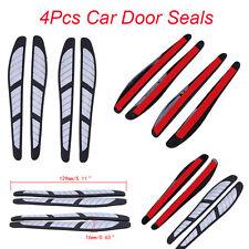 4 Pcs Scratch Strip Protection Door Edge Sticker Decal Guard Trim Molding Fit VW