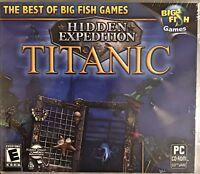 Hidden Expedition Titanic Pc Brand New Win8 7 XP