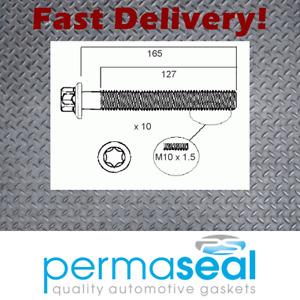 Permaseal Head bolt set fits Mercedes-Benz M271.950 C200 W204