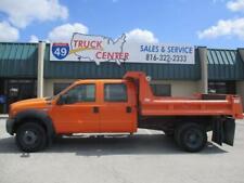 2006 Ford F-450 Crew Cab 9' Dump Truck