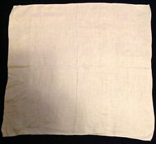 Vtg Double Damask Irish Linen Napkin Roses