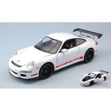 WELLY WE22495W PORSCHE 911 (997) GT3 RS WHITE 1:24 MODELLINO DIE CAST MODEL