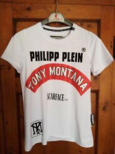 Philipp Plein T-Shirt Men Maglia Uomo Size S Montana Scarface