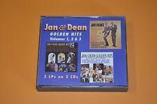 Jan & Dean - Golden Hits / Volumes 1, 2 & 3 / One Way Records 1996 / 2CD Box Rar