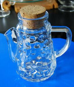 Erdnusskanne Nusskanne Spender Glas Bubble  Kult 70iger
