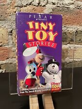 Disney Pixar Tiny Toy Stories VHS - RARE HTF with Banned Knick Knack Short