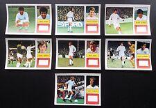 Leeds United FKS 1973-74 il meraviglioso mondo delle stelle del calcio 7 X ADESIVI