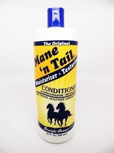 The Original Mane 'n Tail Conditioner, Equestrian Hair Moisturizer 32 fl. oz.