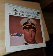 MIT FRITZ WUNDERLICH DURCHS LAND DER OPERETTE GERMANY Vinyage Record album LP