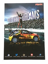 Petter Solberg Unsigned World Champion Rally Poster Rare.