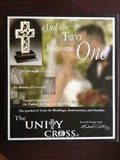 NEW The Unity Cross Wedding Centerpiece Christian Black Pewter Anniversary