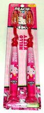 Reach Bambini Confezione da 2 Hello Kitty Morbide Spazzolini Ventosa Supporto