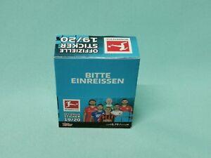 Topps Bundesliga Sticker 2019/2020  1 x Display / 36 Tüten  19/20