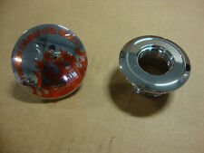 BIG DOG OEM CHROME GAS CAP W/ PAINT SAVER K-9 MASTIFF PITBULL RIDGEBACK CHOPPER
