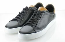 31-19 $198 Men's Sz 11.5 M Good Man Brand Legend Leather Low Top Sneaker - Black