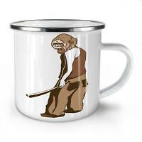Monkey Man NEW Enamel Tea Mug 10 oz   Wellcoda