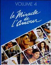 (6)35291//LE MIRACLE DE L'AMOUR VOLUME 4 COFFRET 3 DVD EPISODES 55 A 72 NEUF