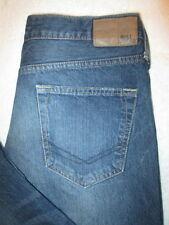 Bullhead Rincon Straight Mens Blue Denim Jeans Size 30 x 30  Mint/distress