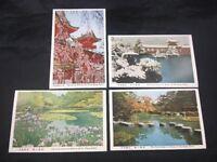 Heian Shrine Kyoto Japan Lot of 4 Vintage Japanese Color Postcards Unposted