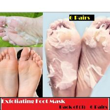 6 Pair Exfoliating Peeling Off Foot Mask Baby Soft Feet Removes Callus Dead Skin