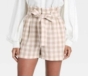 Women's A New Day Shorts Light Brown Size S