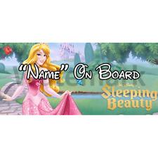 Disney Sleeping Beauty Personalised Baby On Board Car Sign (1)