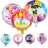 18 Inches Inflatable Round Foil Balloon Cute Cartoon Happy Birthday Party Decor