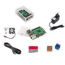 8 in1 Raspberry Pi 3 Starter Kit RPi 3 Board Case +2.5A Adapter +16GB TF Hot
