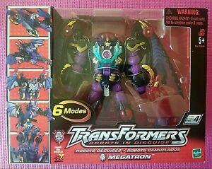 Transformers Robots in Disguise R.I.D. 2001 MEGATRON Ultra Class WORLDWIDE NIB