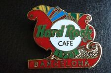 HRC Hard Rock Cafe Barcelona Christmas 1998 Sleigh