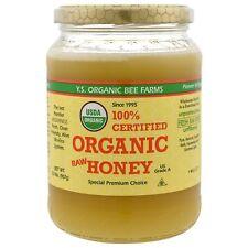 Y S  Eco Bee Farms  100  Certified Organic Raw Honey  2 0 lbs  907 g