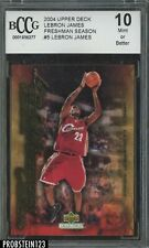 2004 Upper Deck Freshman Season #5 LeBron James Cavaliers BCCG 10