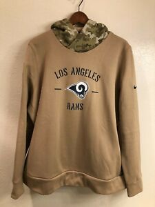 Los Angeles Rams women's Nike Dri-Fit Salute to Service hoodie (size: 2XL)