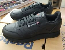REEBOK CLASSIC LEATHER 116 BLACK MEN US SZ 9