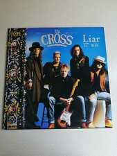 """THE CROSS – LIAR – 12"""" MIX – REISSUE – NEW AND NEVER PLAYED"""