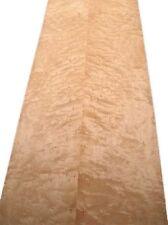 Vogelaugen Ahorn Furnier Erable Birdseye Maple W 295x18/18,5cm 2