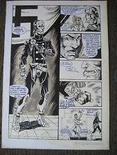 SALE! Tim Tyler Vigil Original Art Ravage Page 8 Faust