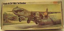 Frog 1/72 Arado Ar 234 Jet Bomber Original 1976 Kit #F417 Very Nice Condition