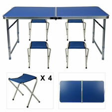 Unbranded Folding Picnic Table Camping Tables&Chair Sets