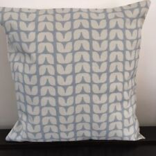 "Blue/Grey 'Scandi' Design 16"" x 16"" Cushion Cover"